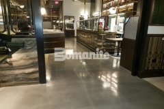 After our colleague, Beyond Concrete, made necessary corrections to repair a base slab that was in poor condition, they installed Bomanite Modena SL decorative concrete – their expertise in the field ensured a high-end finished product at the Angeline by Michael Symon restaurant, and earned them the 2018 Best Bomanite Custom Polishing Project Honorable Mention Award for their excellent work.