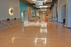 Bomanite Patene Teres was skillfully installed here by our colleague, Texas Bomanite, to create a flooring surface that is extremely durable with distinctive design detail that adds beautiful depth and warmth to this space.