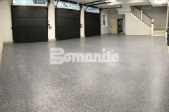 Our colleague, Premier Concrete Construction, installed the Bomanite Broadcast Flake Toppings System with a salt and pepper finish, producing an architectural design that will provide durability and a protective flooring surface that will stand up to long term wear and tear.